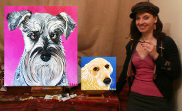 pet portrait artist